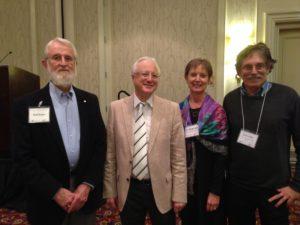 Neal Kaske, Stephen Town, Sue Baughman, and Steve Hiller