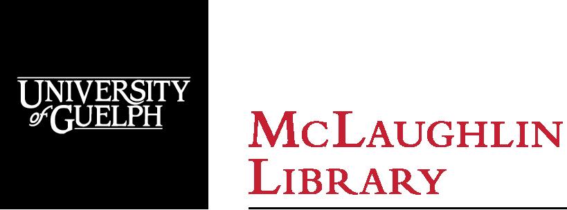McLaughlin Library, University of Guelph logo