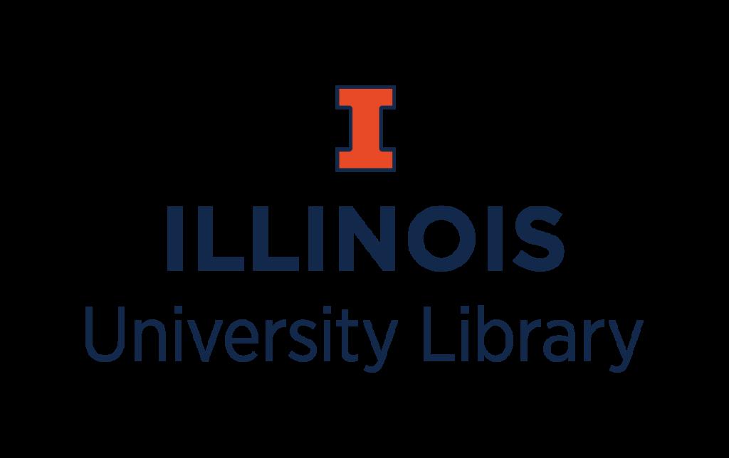 Illinois University Library logo