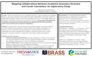 """Mapping Collaborations"" poster."